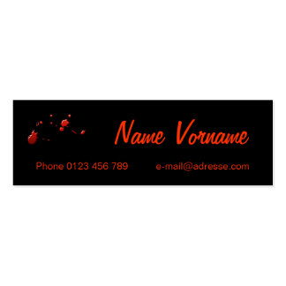Bloodily Business Card Template