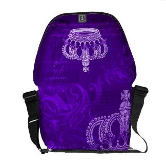 Bloodline real - púrpura bolsas de mensajeria