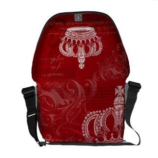 Bloodline real - rojo bolsa de mensajeria