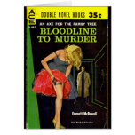 Bloodline to Murder pulp cover