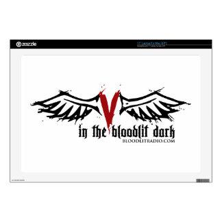 Bloodlit Radio: In the Bloodlit Dark Skin For Laptop