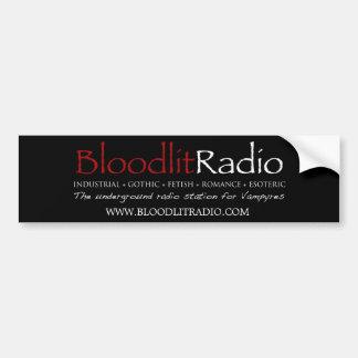 Bloodlit Radio Logo Bumper Sticker