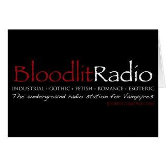 Bloodlit Radio Logo Card