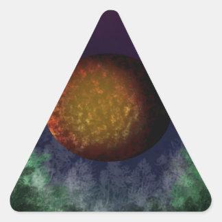 bloodmoon triangle sticker