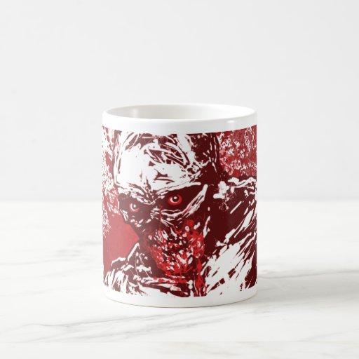 Bloodmouth Zombie Classic White Coffee Mug