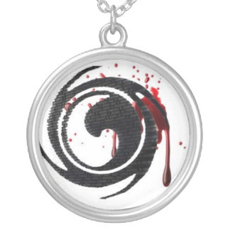 bloodpapers silver plated necklace