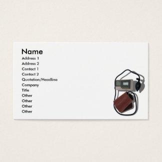 BloodPressureCard, Name, Address 1, Address 2, ... Business Card