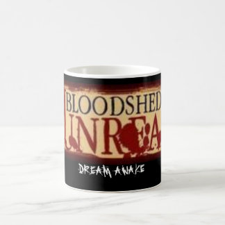 BLOODSHED LOGO, DREAM AWAKE COFFEE MUG
