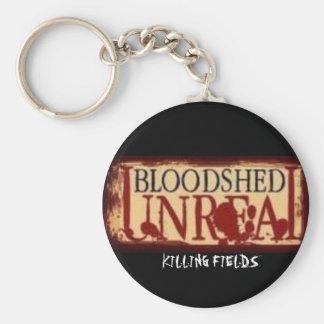 BLOODSHED LOGO,   KILLING FIELDS - Customized Keychain