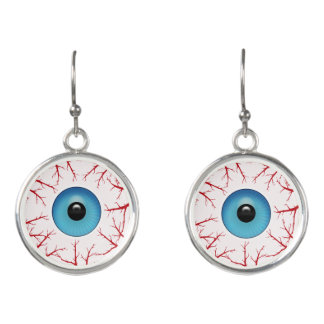 Bloodshot Eyeballs Earrings