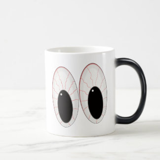 Bloodshot Eyeballs Halloween Eyes Magic Mug