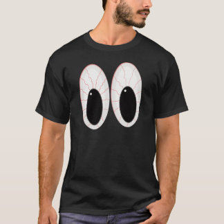 Bloodshot Eyeballs Halloween Eyes T-Shirt