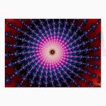 Bloodshot Fractal Swirl Card