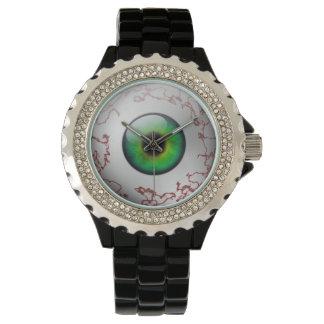 Bloodshot Green Eye Watch