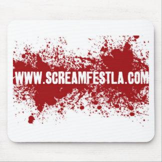 bloodsplatter website mouse pad