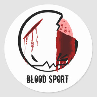 BloodSport: CRUNCH Classic Round Sticker