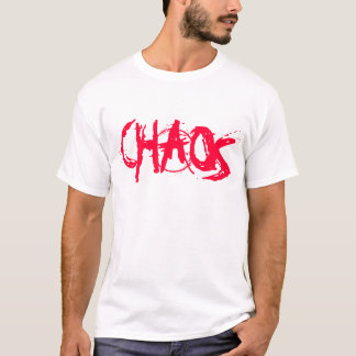 Bloodstain Graffitti Chaos design T-Shirt