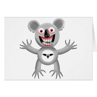 BLOODSUCKER KOALA CARD