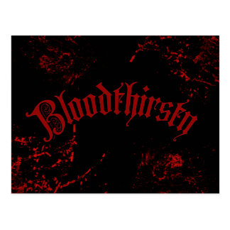 Bloodthirsty Postcards