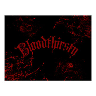 Bloodthirsty Posters