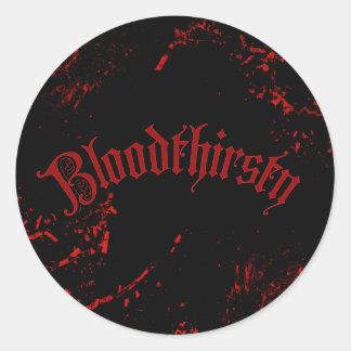 Bloodthirsty Sticker