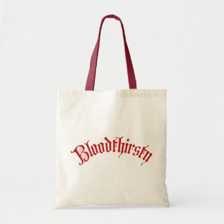 Bloodthirsty Tote Bags
