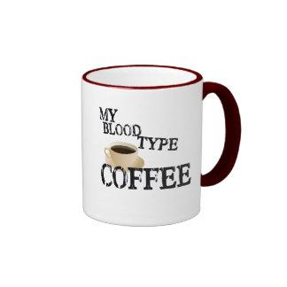 Bloodtype Coffee Ringer Mug