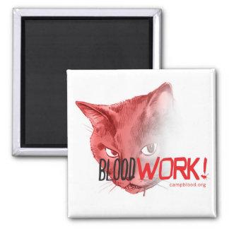 ¡BloodWork! Imán de la estación 5