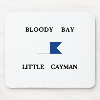 Bloody Bay Little Cayman Alpha Dive Flag Mouse Pad