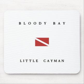 Bloody Bay Little Cayman Scuba Dive Flag Mouse Pad