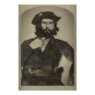 Bloody Bill Anderson - C S A - Civil War Print