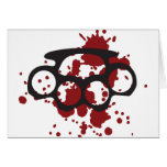 bloody brass knuckles card