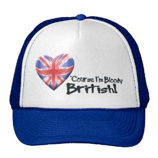 Bloody British Trucker Hat