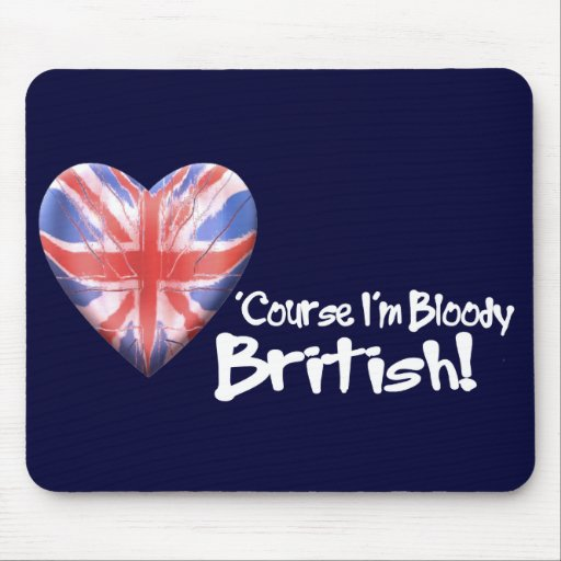 Bloody British Mouse Pad