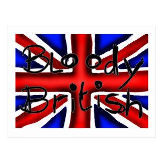 Bloody British Postcard