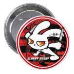 BLOODY BUNNY BUTTON