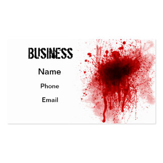 Bloody Business Business Card