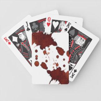 Bloody Cards, Copyright Karen J Williams Bicycle Playing Cards