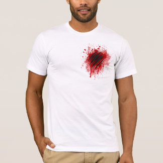 Bloody Cat's claw marks T-Shirt