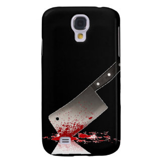 Bloody Cleaver Galaxy S4 Cover