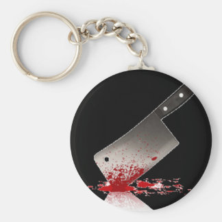 Bloody Cleaver Keychain