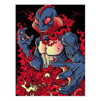 Bloody Creature Postcard
