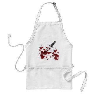 Bloody Dagger Adult Apron