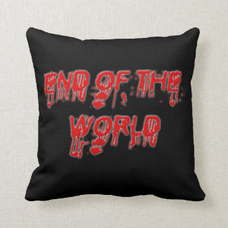 Bloody End of the World Pillow - Polyester