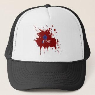 Bloody free tibet trucker hat