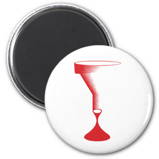 bloody funnel 2 inch round magnet