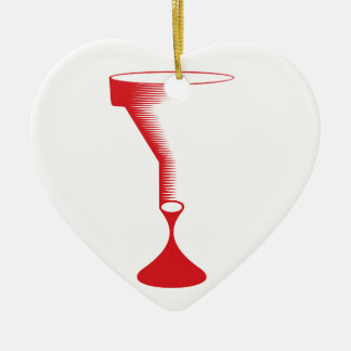 bloody funnel ceramic ornament
