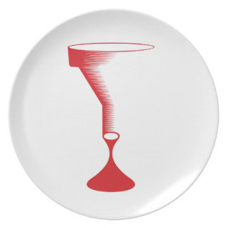 bloody funnel dinner plate
