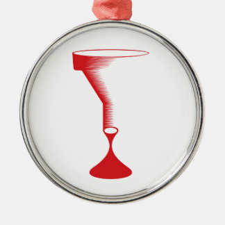 bloody funnel metal ornament