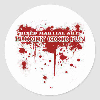 Bloody Good Fun Classic Round Sticker
